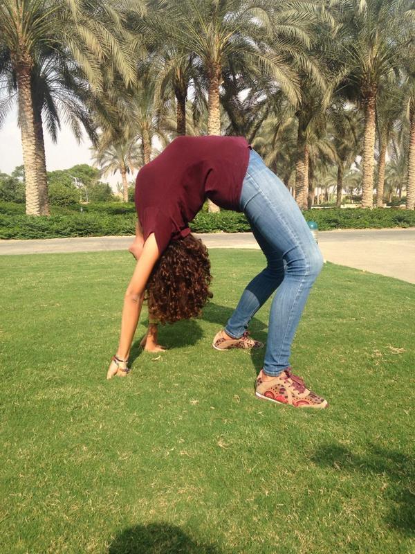 Hana Ghoneim, a psychology major, says 'AUC spirit inspires you to engage in fun activities' #JRLweb #JRMC2202 http://t.co/RIcR5t6Ptx