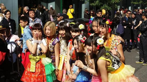 Saturday night X-Japan. Sunday morning Cheeky Parade. http://t.co/OOUVUmevsc