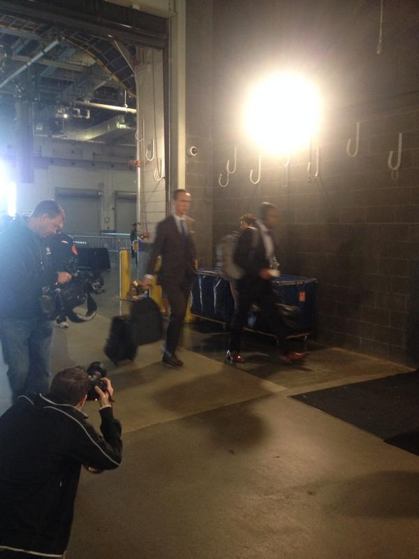 Game over RT @KimJonesSports: Peyton Manning has arrived at MetLife Stadium. Broncos-Jets. http://t.co/vET2QecHIz