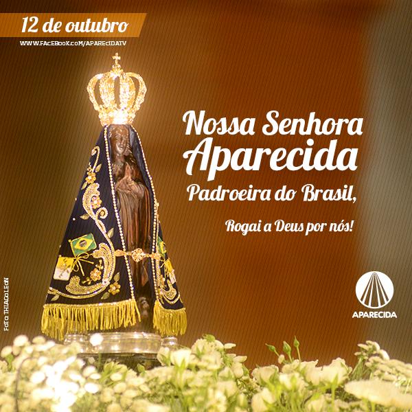 Intercede por nós, ó Mãe de Jesus! Viva Nossa Senhora Aparecida, Rainha e #PadroeiradoBrasil! http://t.co/Wt7GqkIHpi