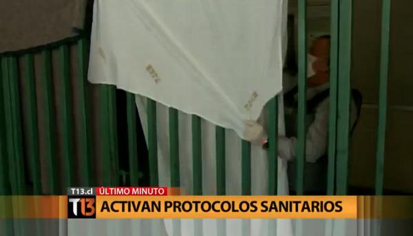 Sábanas: el moderno sistema de aislación por presunto paciente con ébola en Santiago… http://t.co/cOYmaxn8j1
