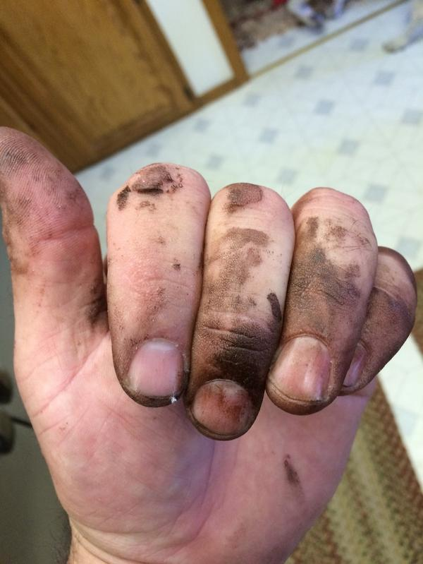 Fingering my asshole