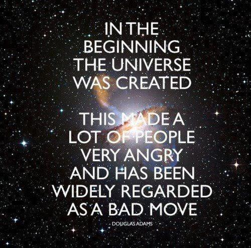 The Hitchhiker's Guide to the Galaxy was published 35 years ago today. RIP Douglas, you bloody legend. http://t.co/r2KjnMUTvr