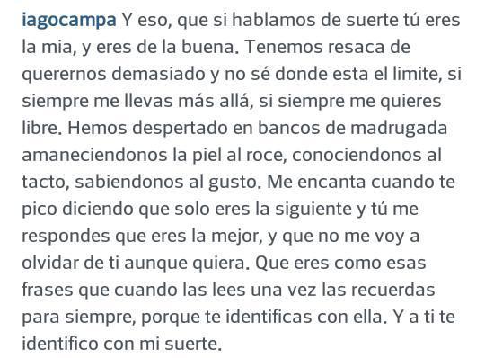 Iago De La Campa On Twitter Eres Como Esas Frases Que