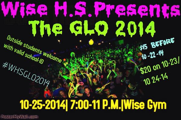 Wise Homecoming Dance 10-25-14!!Tickets go sale next Monday! http://t.co/AtQUYVAl5R