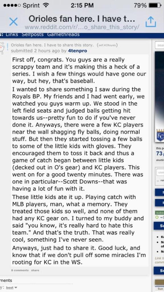 @Royals check this out from a @Orioles fan.  #HuntForBlueOctober #TakeTheCrown #KCvsBAL http://t.co/UuQKf6gYjW