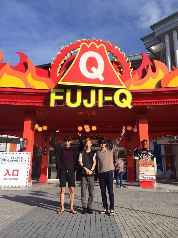 ぜひ、また遊びに来てくださいね♪ RT @GaemGyu 少し遅れましたが FUJI-Q 旅行記!! http://t.co/vrRb9jEjpT