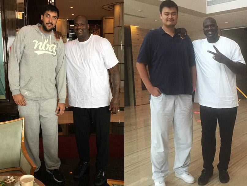 """The Pick and Roll on Twitter: """"Shaquille O'Neal being ..."""