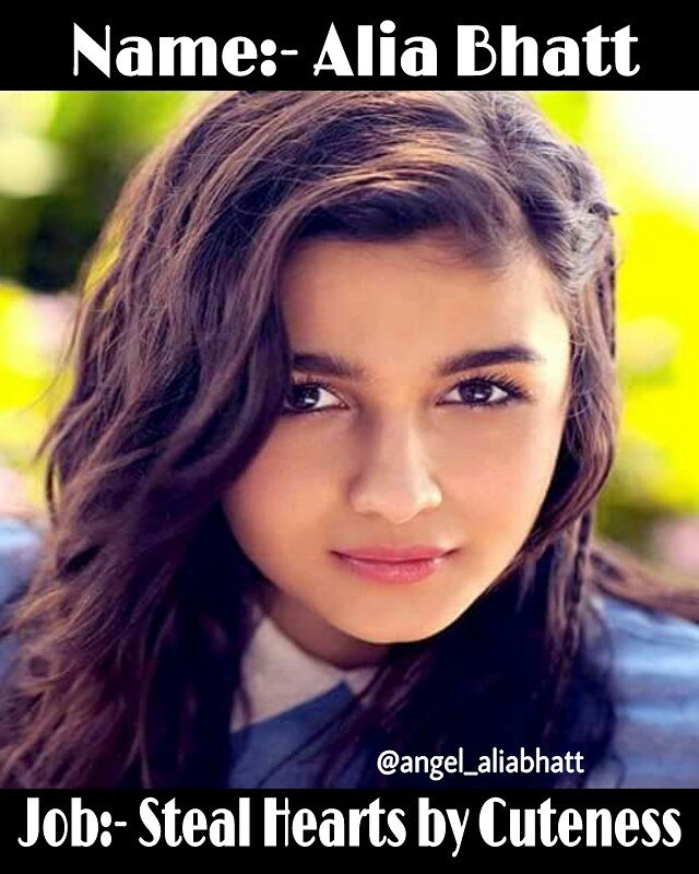 True  @aliaa08  #AliaBhatt #angel_aliabhatt #cuteness #STEAL #heart #heartbeat #love #Bollywood #bollywoodactress #FolloMe<br>http://pic.twitter.com/HnD1VcNsgP