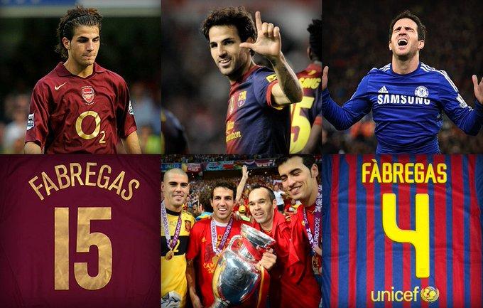 Happy Birthday Cesc Fabregas