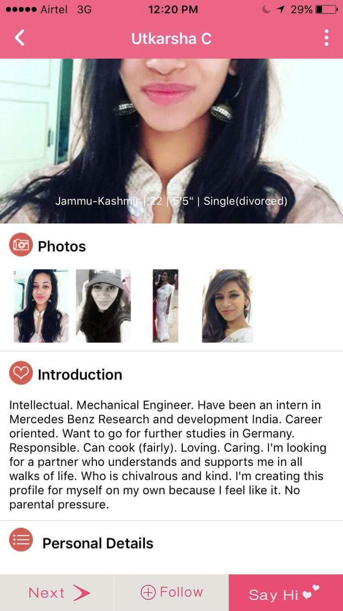Someone made a fake hookup profile of me