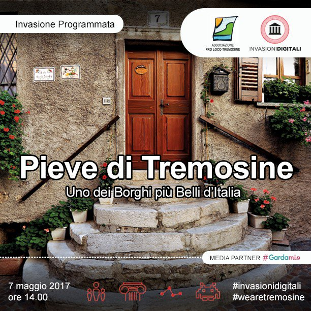 Invadiamo Pieve di Tremosine, domenica 07.05 con racconti, foto e social https://t.co/efnzC2vmng #wearetremosine #invasionidigitali https://t.co/lnAbMiDq6j