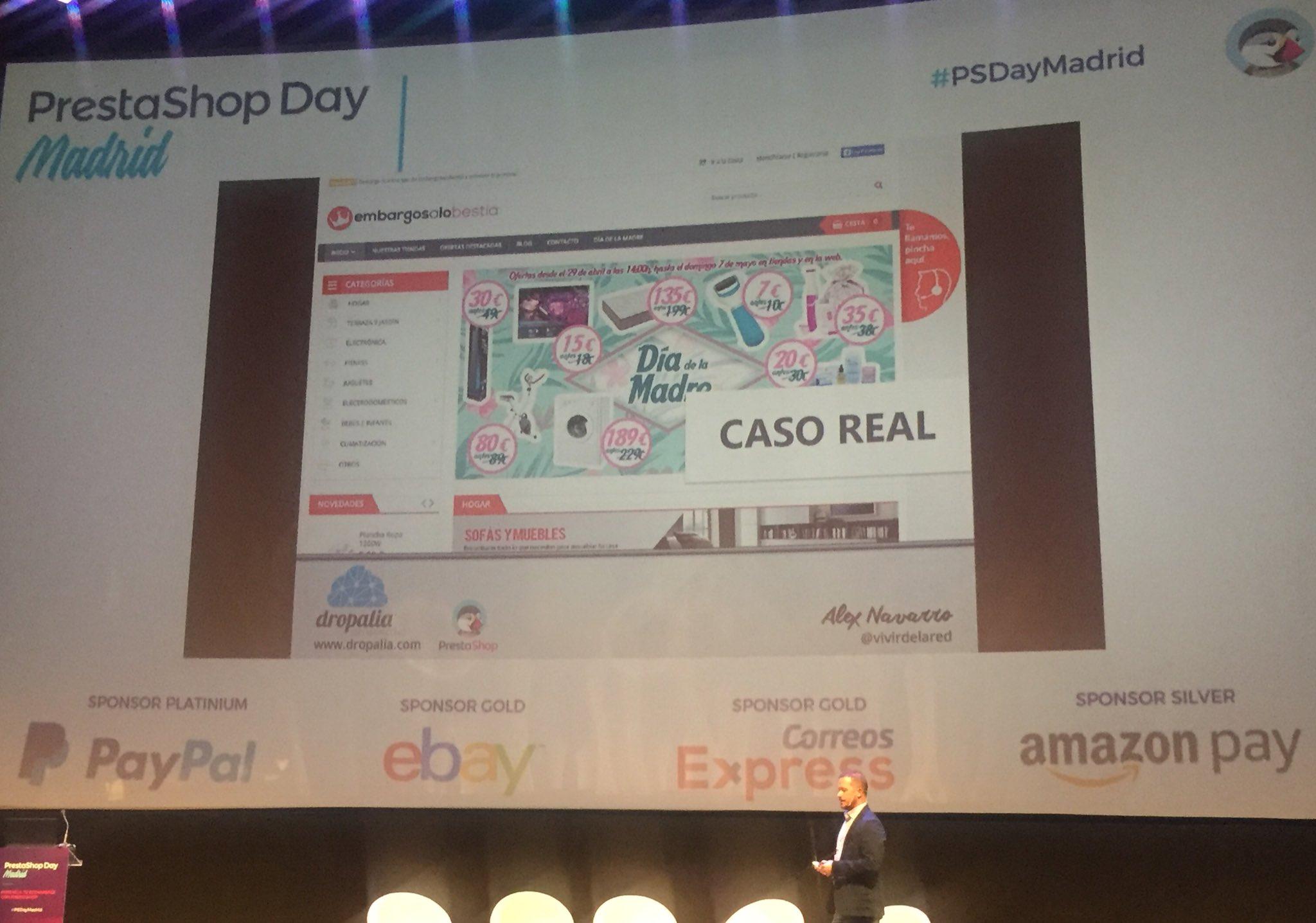 SDI patrocina el PrestaShop Day 2