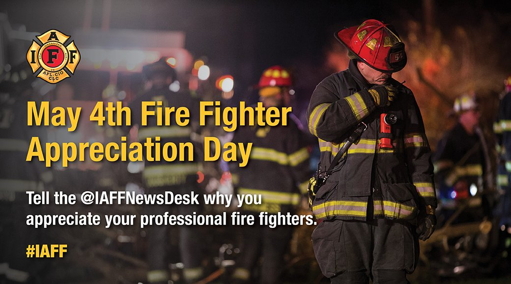 Today is #Firefighter Appreciation Day. We want to hear how #firefighters have made a difference in your community. https://t.co/ssiobftf5K