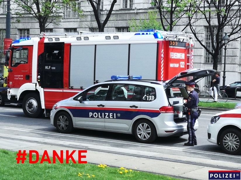 Polizei Wien Twitter