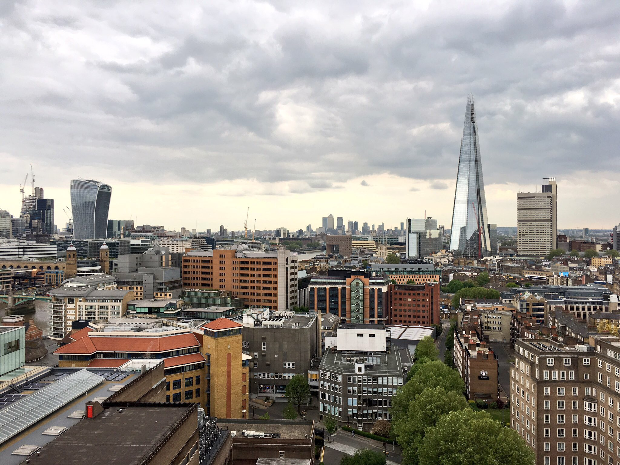 Looking out from the reclaimed industrial Tate Modern to The Shard, I feel like I understand JG Ballard better. https://t.co/3Wvsy4Need