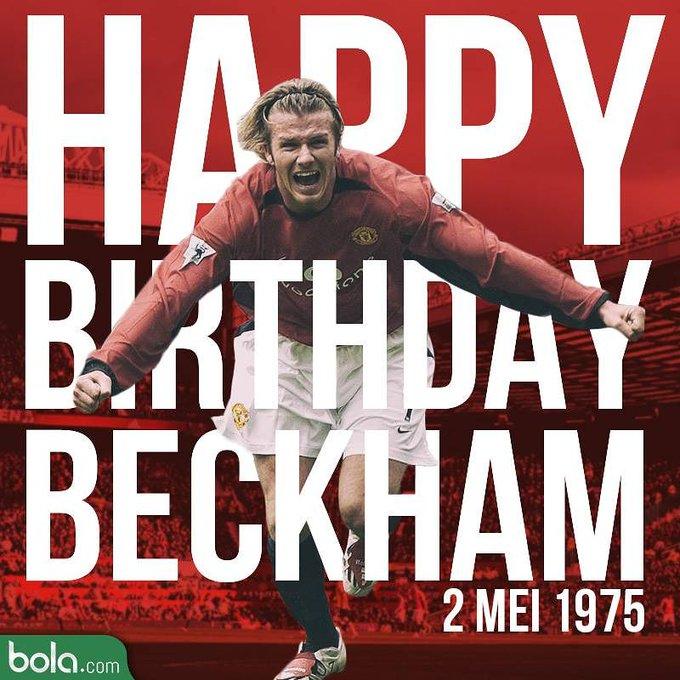 Happy Birthday, David Beckham.