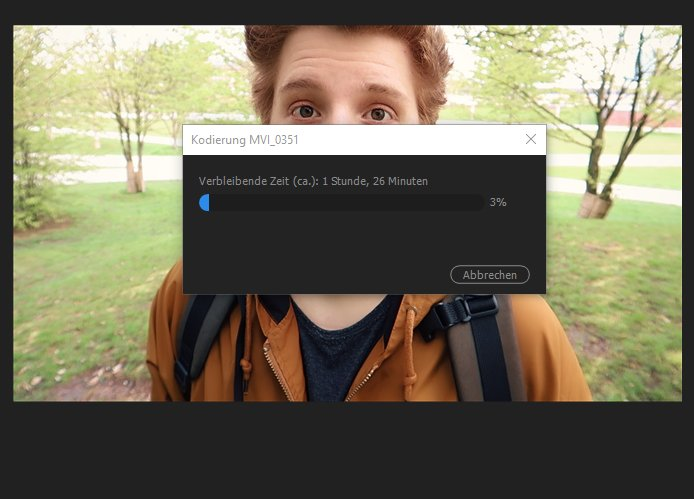 Video rendert ✌️