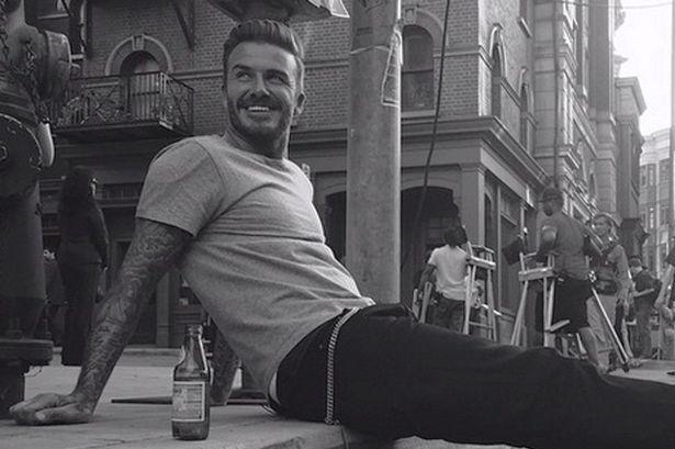 Happy birthday David Beckham!! I love you, I mean, marry me. I mean, eh... ok bye.