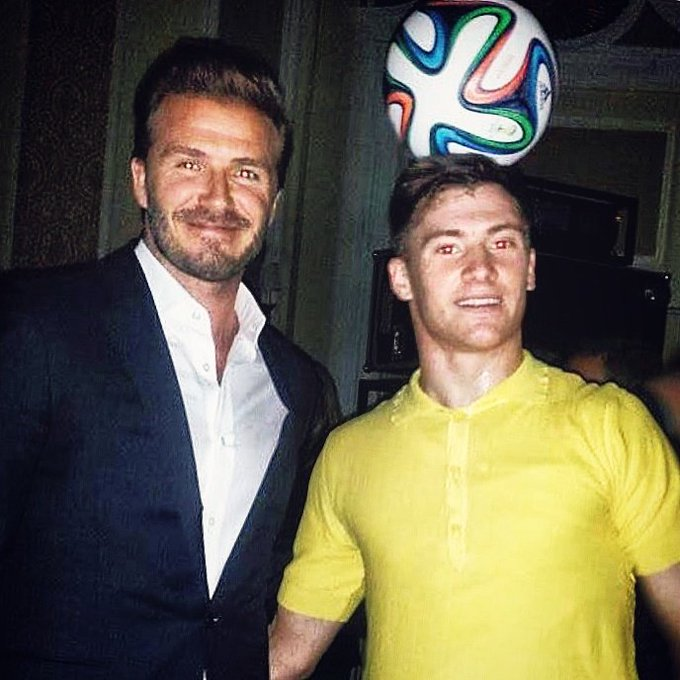 Happy birthday  Sir David Beckham
