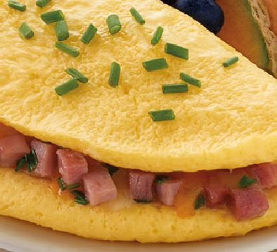 Cheese and Ham Omelet