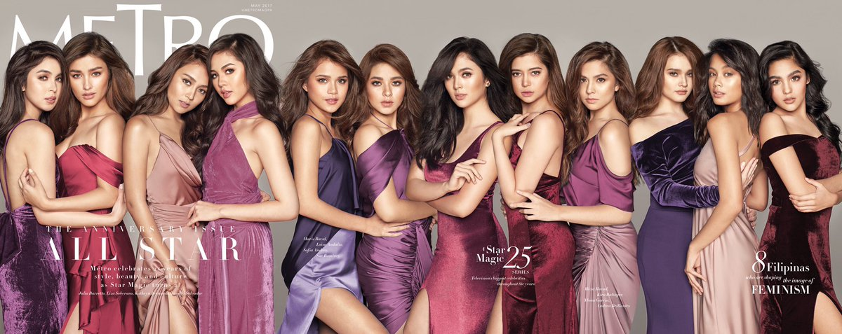 THE ANNIVERSARY ISSUE @metromagph #MetroXStarMagic25 photographed by @bjpascual https://t.co/5LLC5MiV3O