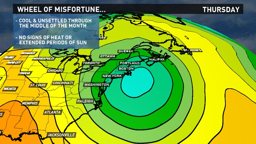 I love donuts, but you never want to be beneath an atmospheric donut for 10+ days. No signs of Summer thru mid May. https://t.co/vmmUFjEtZH