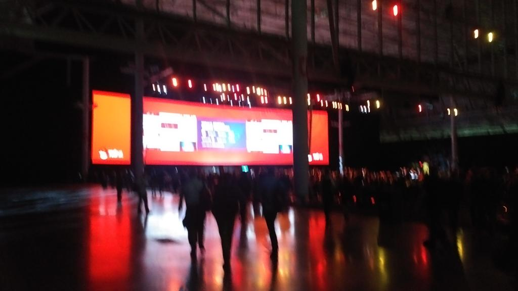 Made it to Day #1 Keynote of #RHSummit https://t.co/xoVIWE643a
