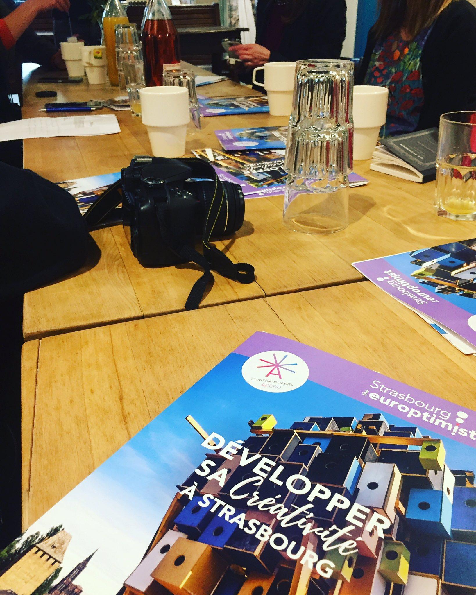 Journée à #Strasbourg, présentation de l'appel à projet #TangoScan, #économie créative, #numérique et #innovation en #GrandEst. https://t.co/scEtajNzXN
