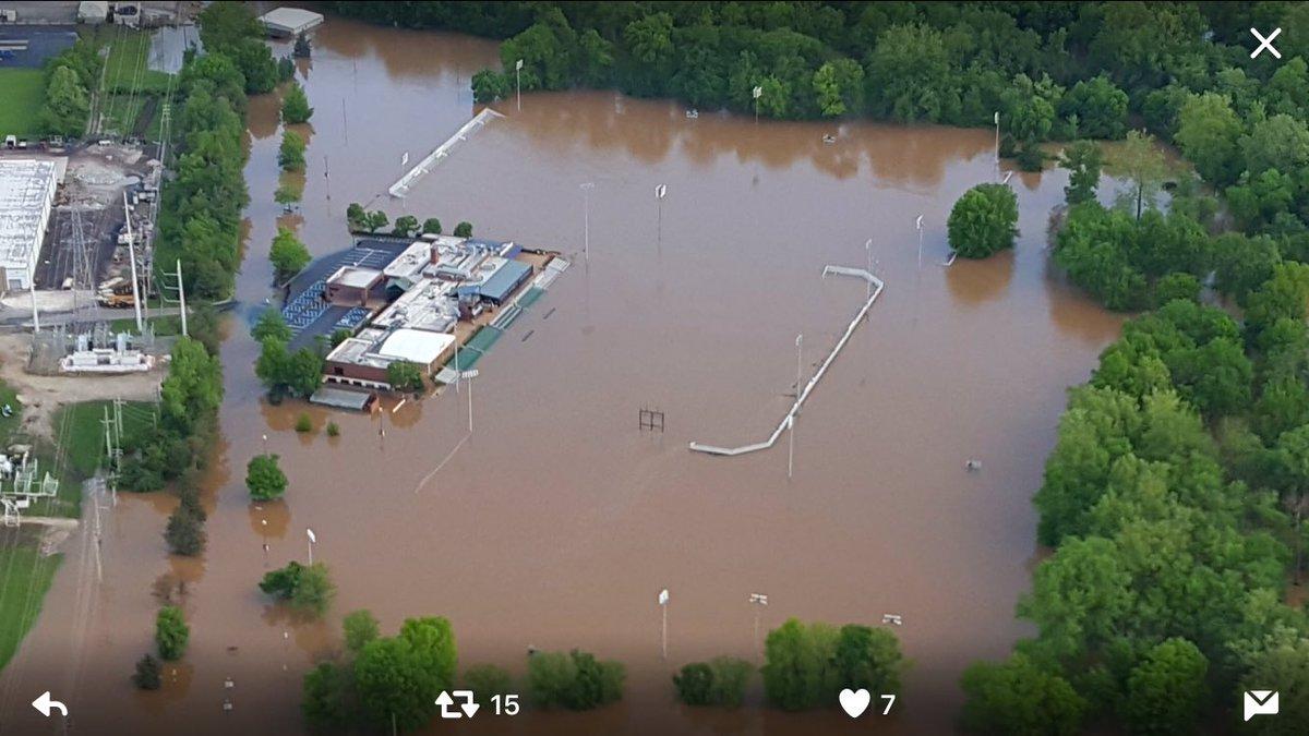 Image result for World Wide Technology Soccer Park flood