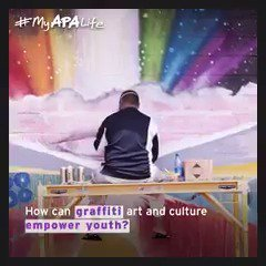 #Graffiti art is empowering a new generation of Native Hawaiians. What art inspires you? Share w/ #MyAPALife! #APAHM