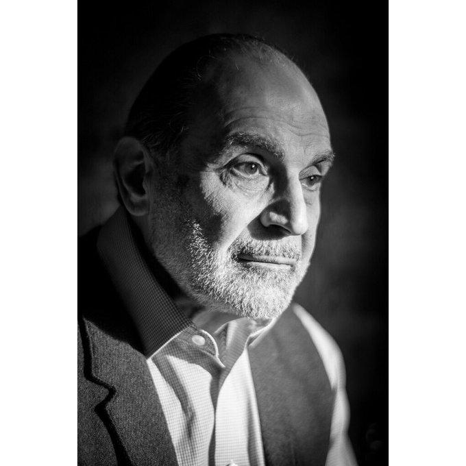 Happy Birthday to the inimitable David Suchet - and his noble beard Matt Humphrey
