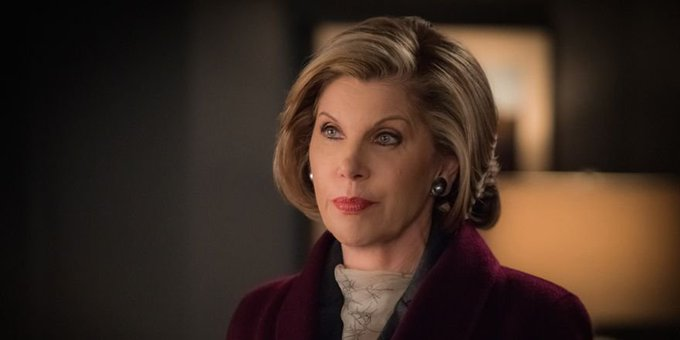 Happy birthday to Christine Baranski. We love seeing her back in action after