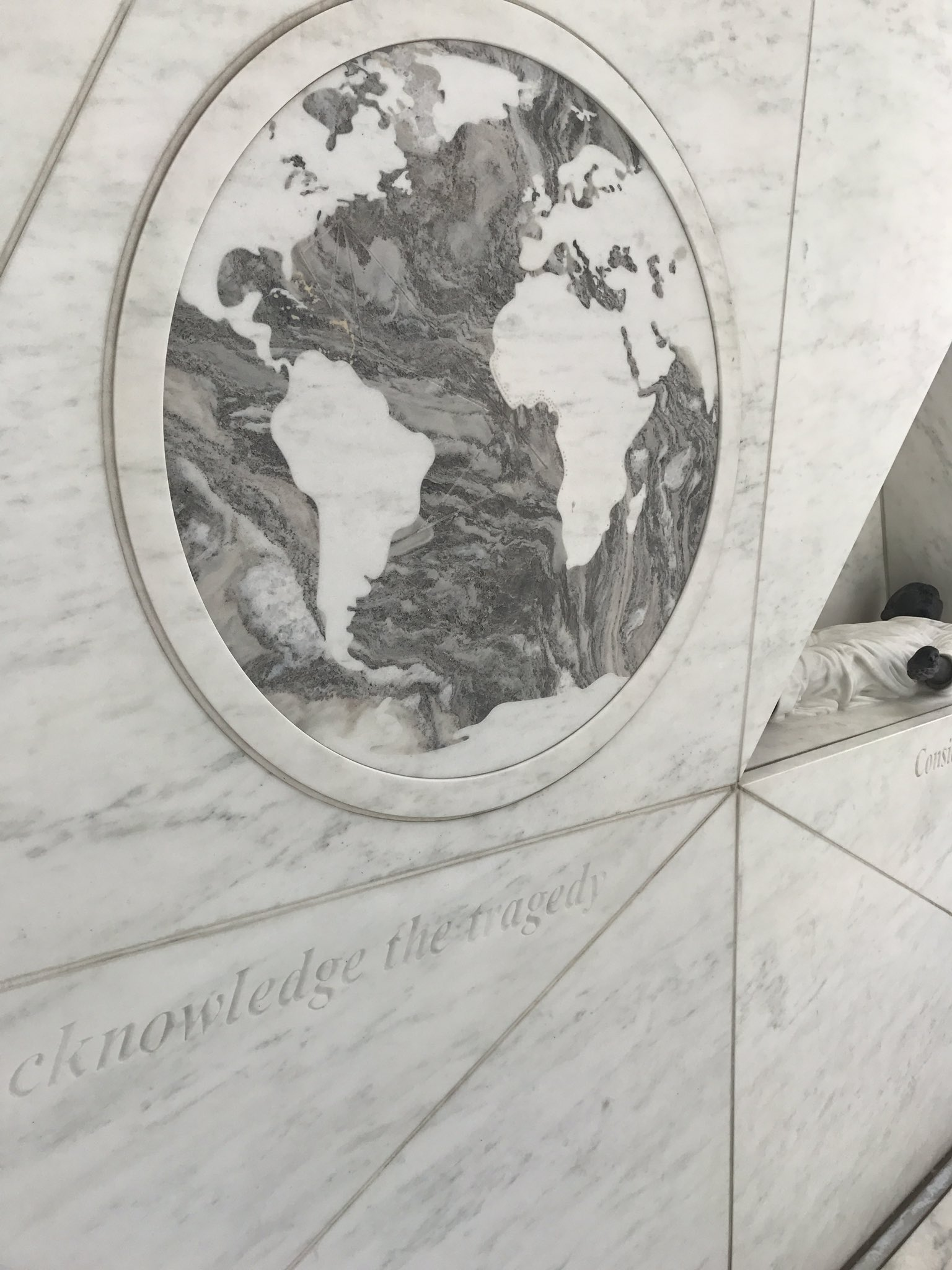 Memorial for the TransAtlantic Slave Trade at the United Nations https://t.co/ehc7UC2n6I