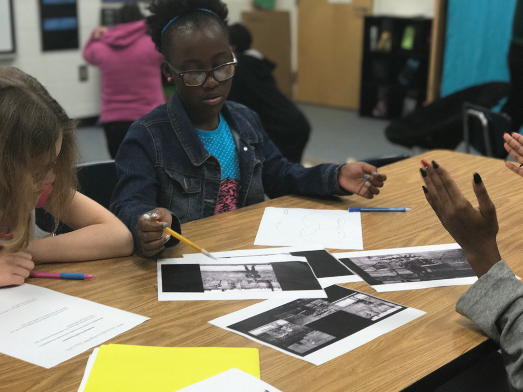 Debating the messages sent by primary sources = elevated student thinking. @SocialSt_HCS #ensuringsuccess https://t.co/h10uzEAwLB