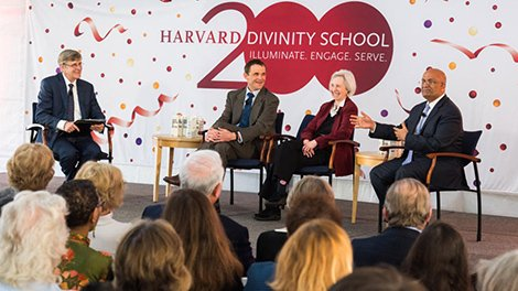 The deans of @HarvardHBS, @Harvard_Law, and @hgse say that HDS's role @Harvard ought to be... #HDS200 https://t.co/FnHyCfBvfc https://t.co/polXxveo7r