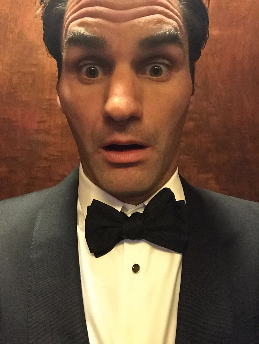 "Roger Federer on Twitter ""omg I went to the MetGala 😠s t"