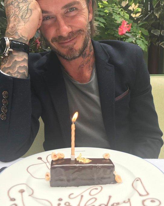 Happy 42nd Birthday David Beckham: