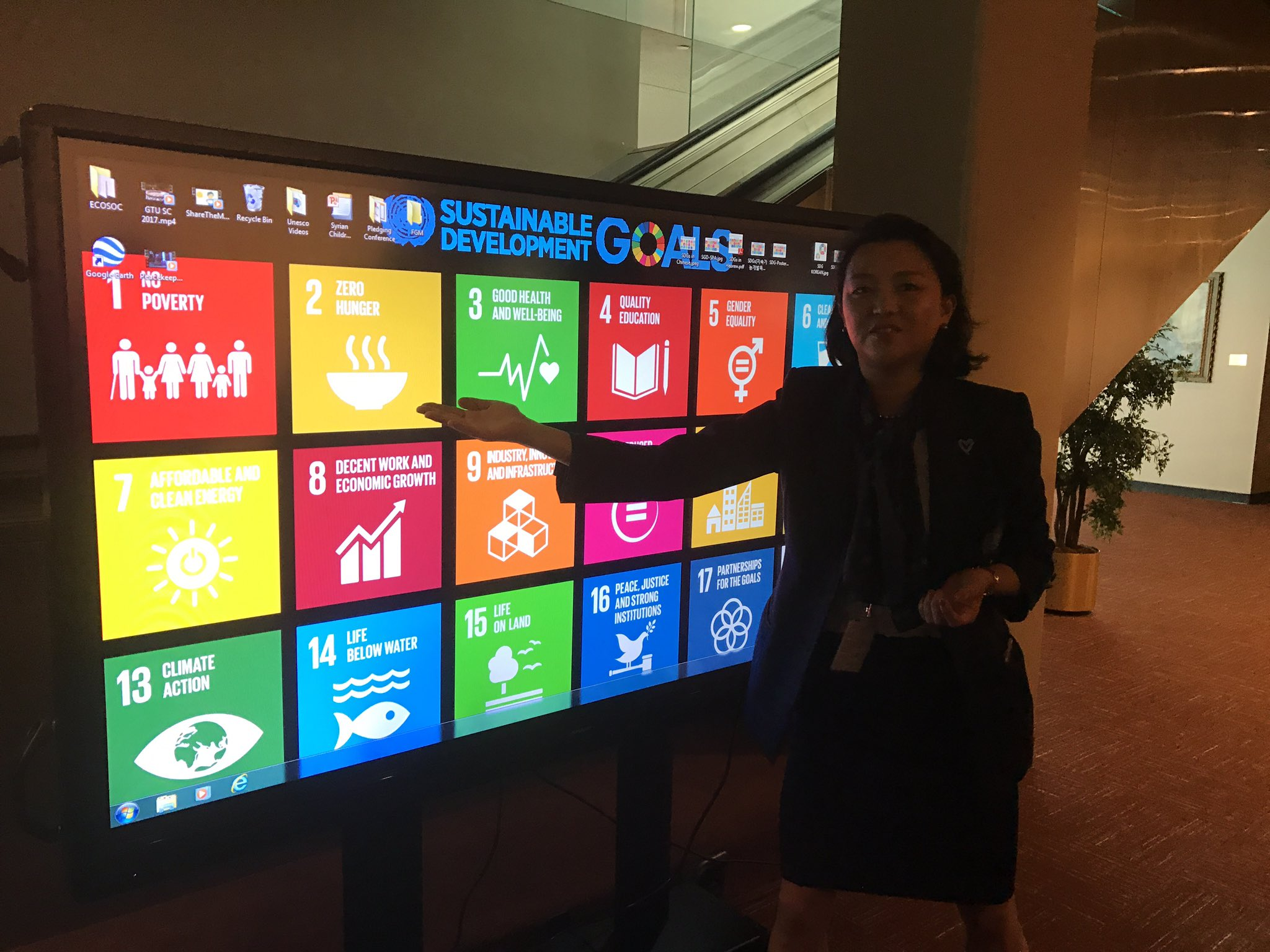 Learning abt the 17 UN Sustainable Goal #UnitedNations https://t.co/KEZxFSGv4x