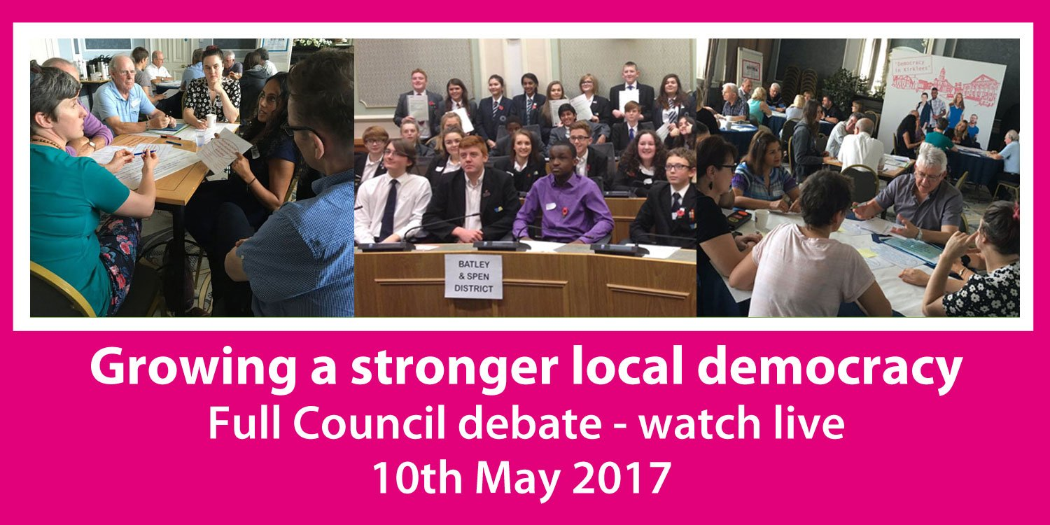 We've published our draft report: Growing a stronger local democracy. Watch our live debate, 10th May https://t.co/oK7cCrMMLi #kirkdemocracy https://t.co/iFKfmfMyC1