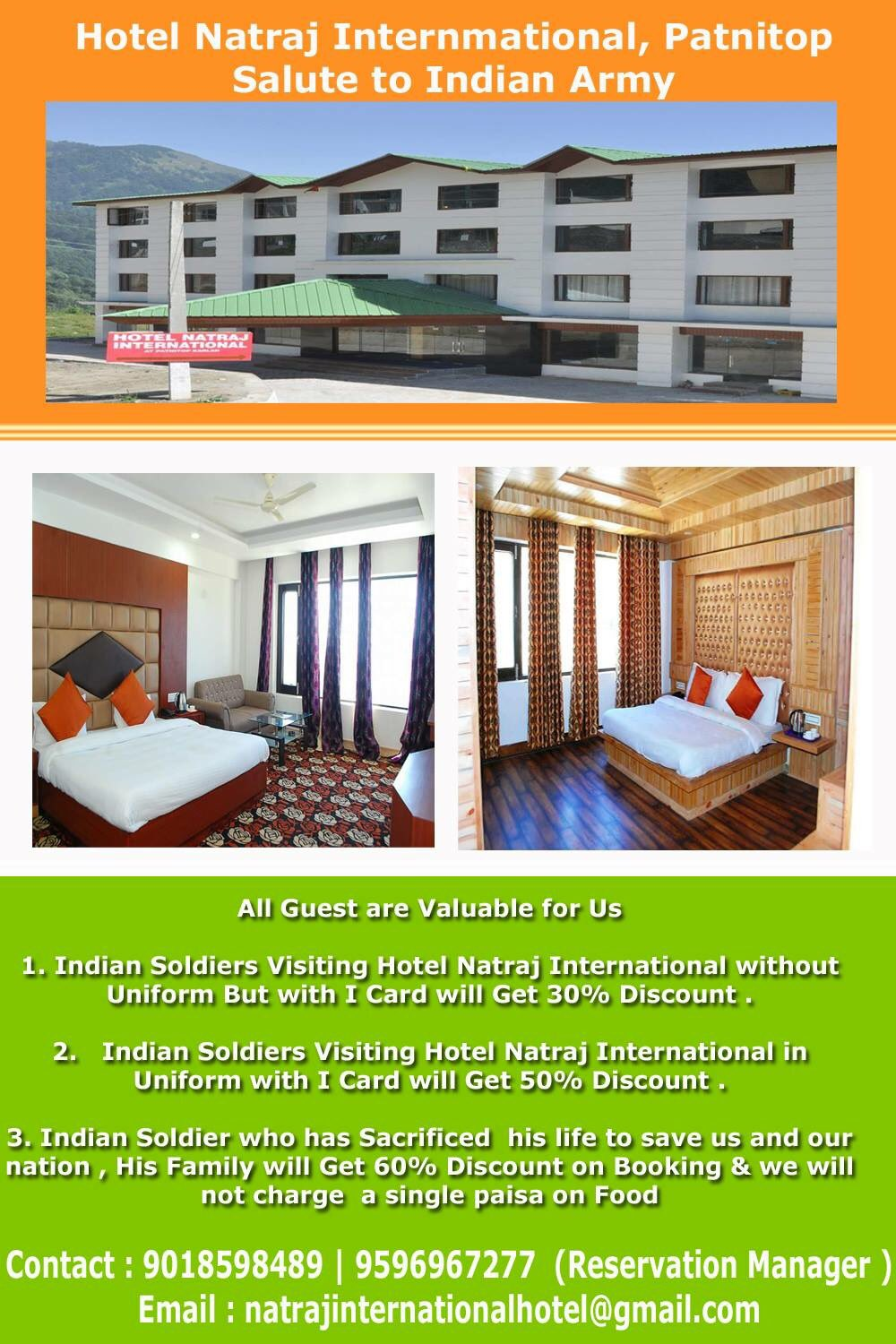 Hotel Natraj International Anu Sharma On Twitter Nationalism Has Neither Been Lost Nor Will