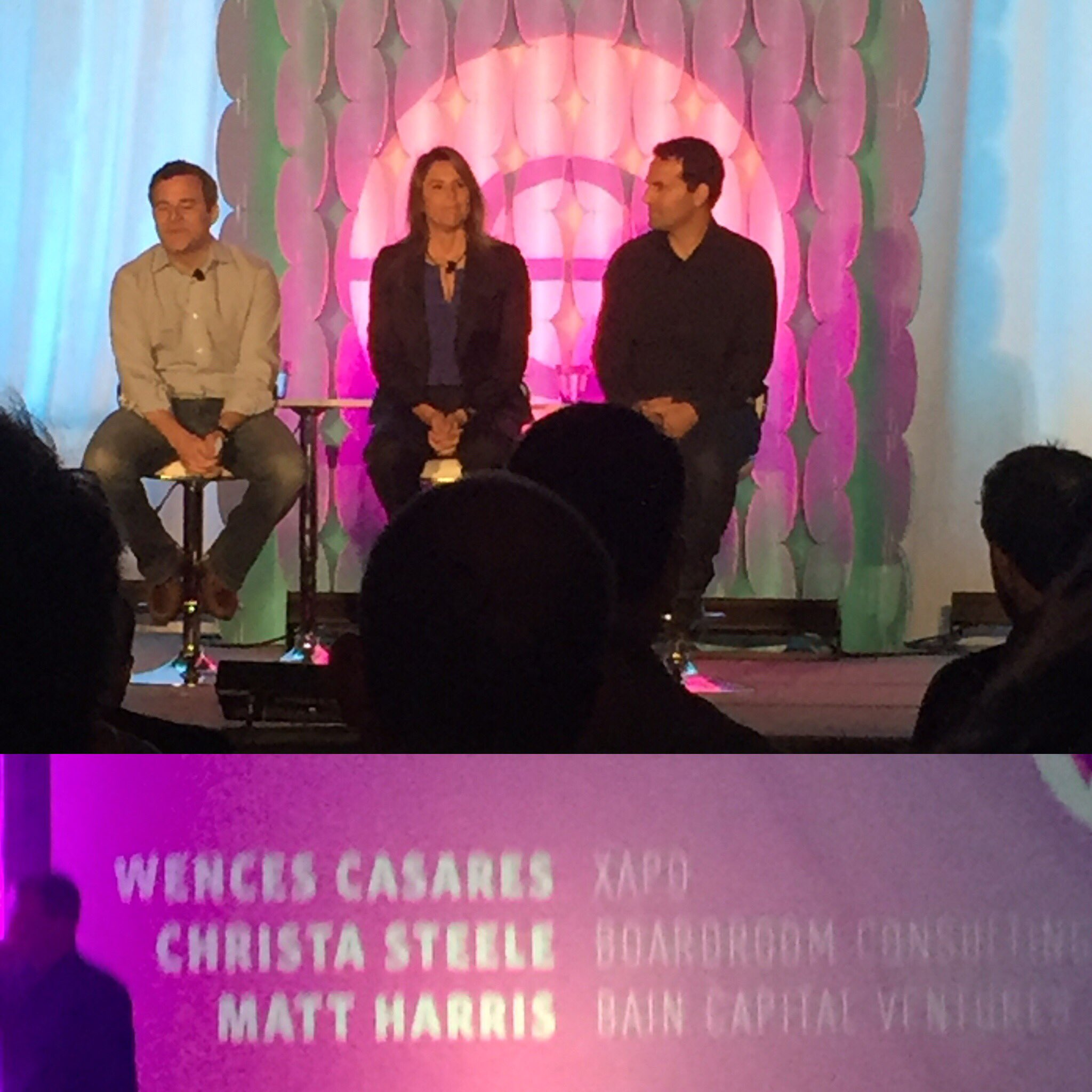 Endeavor Entrepreneur @wences, with @mattcharris and Christa Steele discussing #Blockchain #Bitcoin #endeavorretreat https://t.co/4XmTLlDgEW