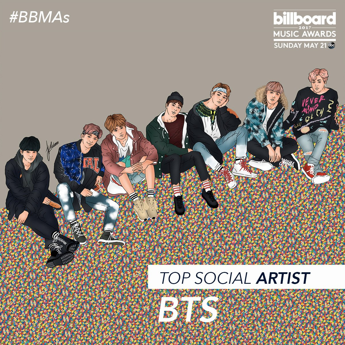 ARMY! 💙 RT to vote for @BTS_twt for Top Social Artist at the #BBMAs. #BTSBBMAs