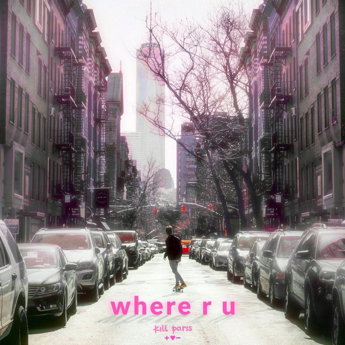 New song 'where r u' by Kill Paris has a completely different style.