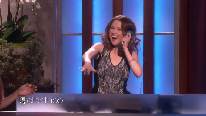 Happy birthday, Ellie Kemper. Remember when you did this stuff?