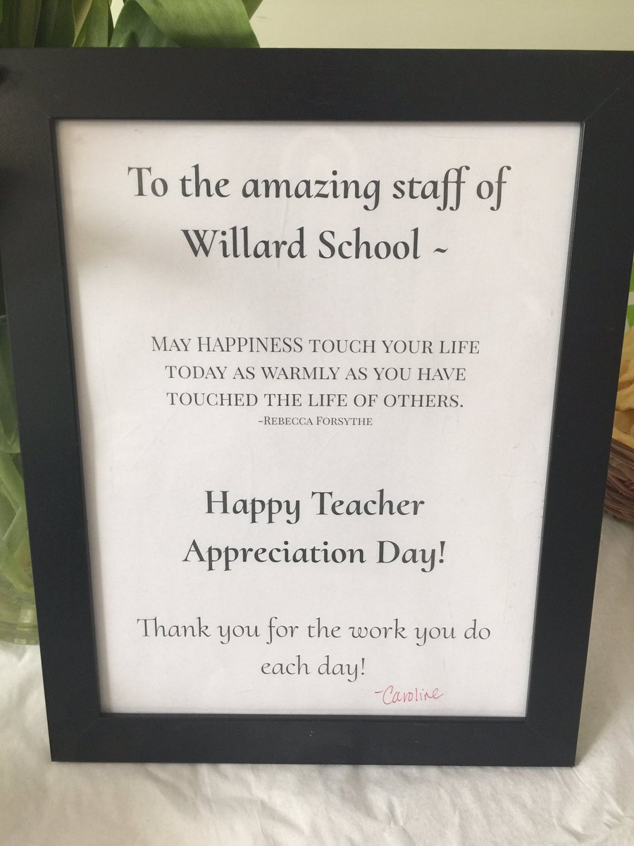 Mr Ong On Twitter Thank U To Mrs Hoffman For Our Staff Teacher