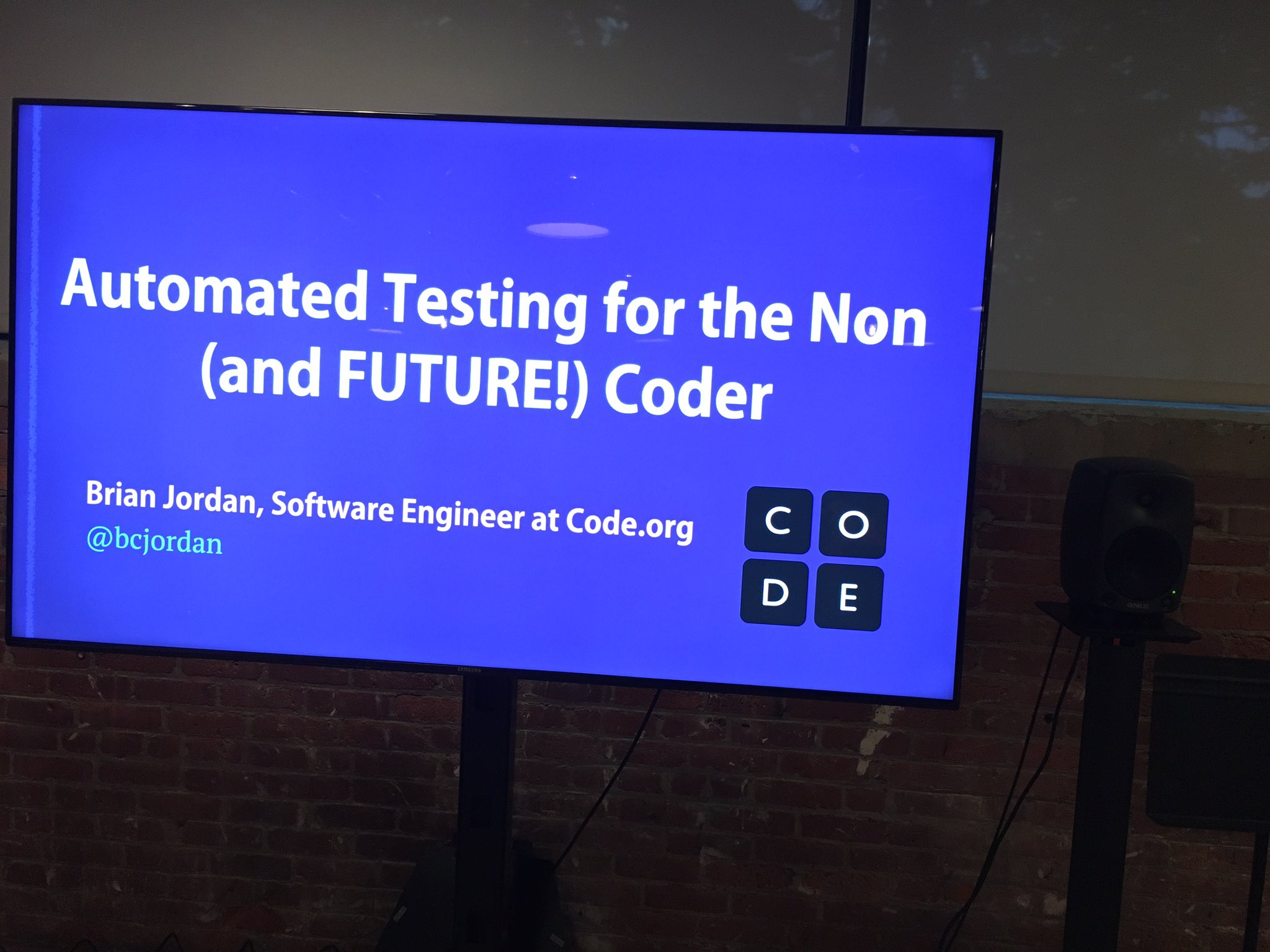 At the @ministryoftest-Boston with @bcjordan! https://t.co/GpjJup2qgF https://t.co/wodGJTZyoI