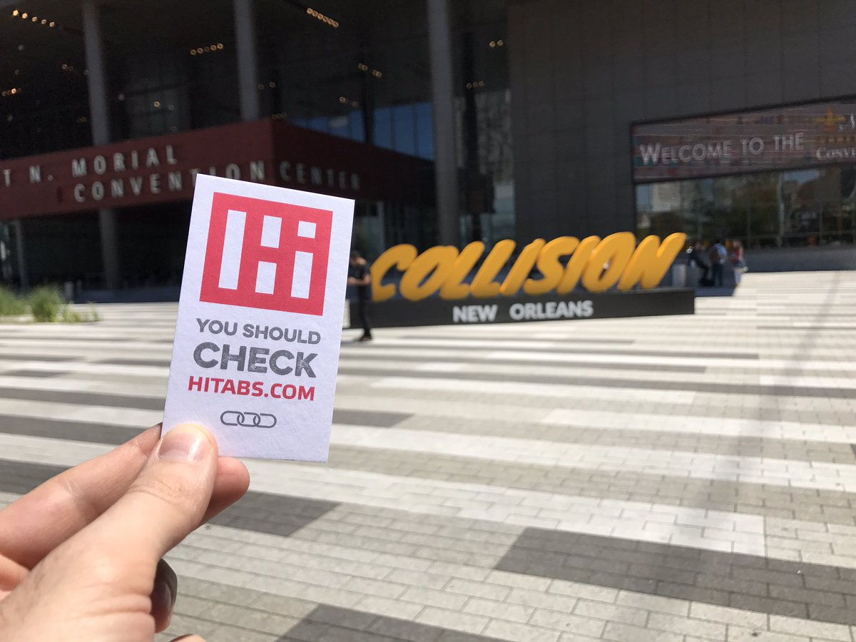 2nd year at @CollisionHQ with the greatest #startups and #entrepreneurs. #CollisionConf #hitabs #collaboration #ideasstarthere https://t.co/537V20CCw5