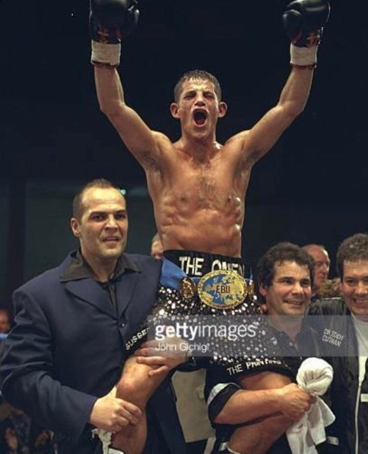 19 years ago today my boxing career ended, I'm so grateful I lived to tell the tale. https://t.co/V4x7uj01P5