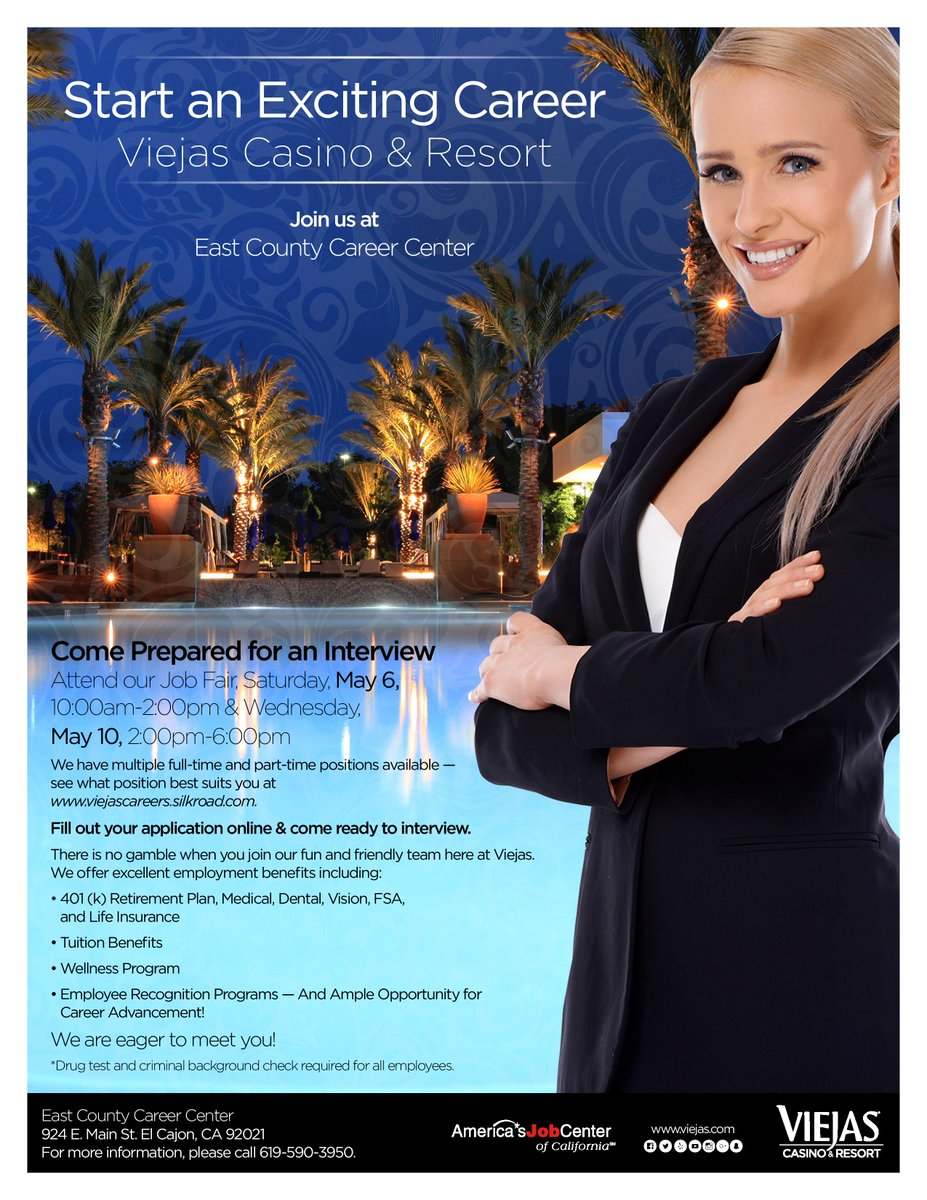 Casino employment viejas casino fruit cocktail online